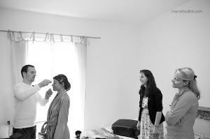 mariage champêtre: préparatifs au Jardin des Acanthes - Bretagne - par Marie Baillet Photographe