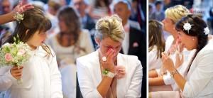 mariage champêtre: mairie Saint-Avé - Bretagne - par Marie Baillet Photographe