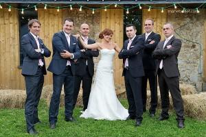 mariage champêtre: mini-groupes au Jardin des Acanthes - Bretagne - par Marie Baillet Photographe