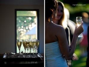 mariage champêtre: cocktail au Jardin des Acanthes - Bretagne - par Marie Baillet Photographe