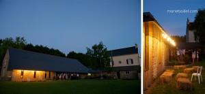 mariage champêtre: bal au Jardin des Acanthes - Bretagne - par Marie Baillet Photographe
