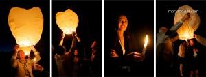 photographe Bretagne mariage champêtre lanternes thailandaises en Bretagne