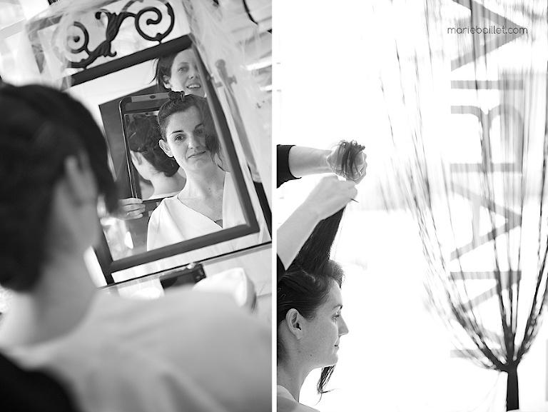 reportage préparatifs / habillage mariage Brest 29 par Marie Baillet Photographe Finistère