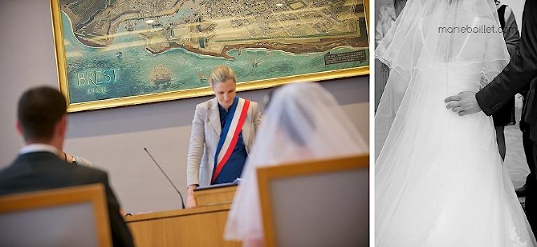 reportage cérémonie civile / mairie Brest par Marie Baillet Photographe Finistère