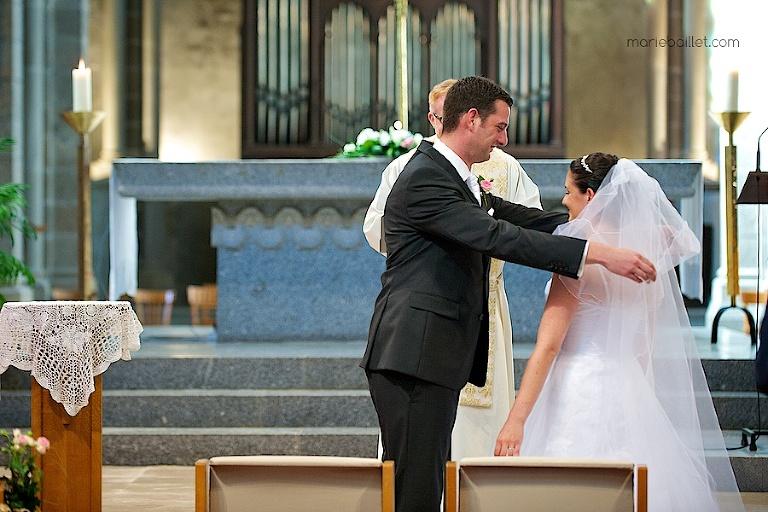 reportage cérémonie religieuse / église Brest par Marie Baillet Photographe Finistère