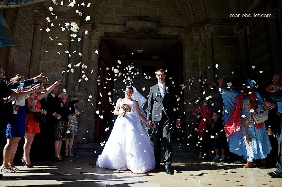 reportage crmonie religieuse glise brest par marie baillet photographe finistre - Photographe Mariage Finistere