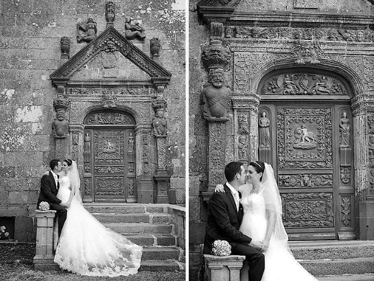 photo de couple jour J mariage 29 / Brest par Marie Baillet Photographe Finistère