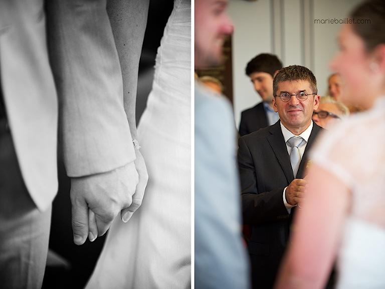 mariage cérémonie protestante au Jardin des Acanthes - Auray par Marie Baillet Photographe