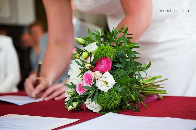 photo détail mariage au Jardin des Acanthes - Bretagne par Marie Baillet Photographe