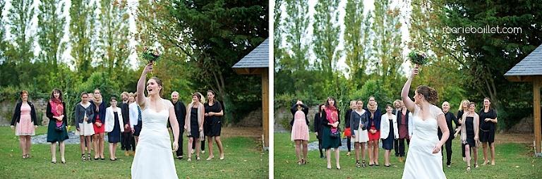 photo mariage protestant Jardin des Acanthes - Morbihan par Marie Baillet Photographe