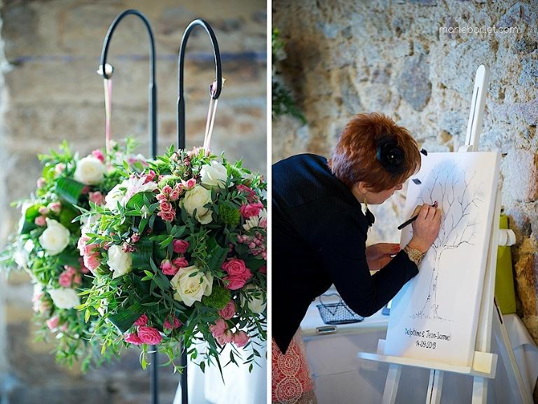 joli détail mariage au Jardin des Acanthes - Bretagne par Marie Baillet Photographe