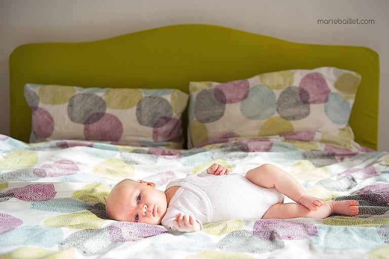 photo nouveau-né / séance bébé / portrait naissance sur le morbihan par Marie Baillet photographe