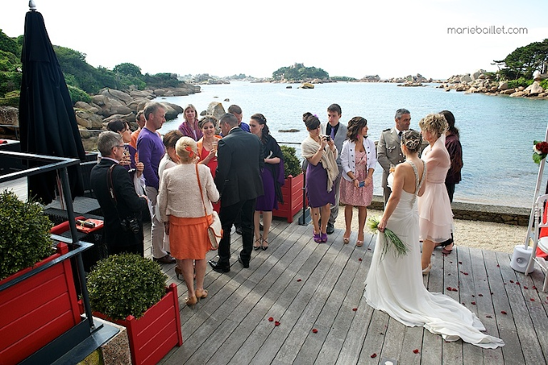 photo cocktail mariage au Castel Beau Site (22) par Marie Baillet photographe Bretagne