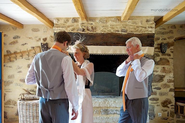 préparatifs mariage a Saint-Philibert, Bretagne (56) par Marie Baillet photographe