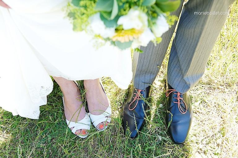 Mariage à Saint-Philibert, Morbihan par Marie Baillet photographe en Bretagne sud