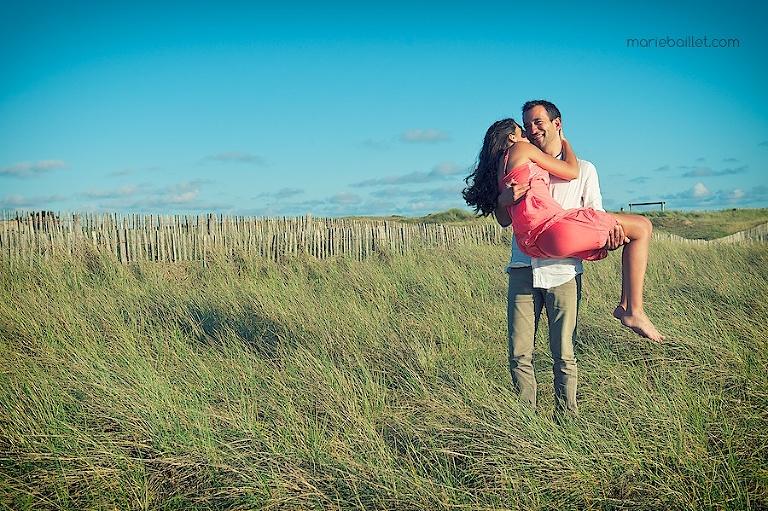 séance engagement / fiancés / pre wedding session en Bretagne