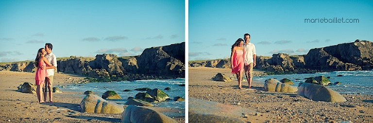 beach love session by Marie Baillet