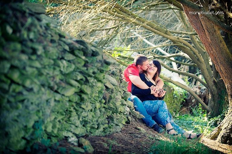 love session dans le Golfe du Morbihan / Bretagne par Marie Baillet photographe