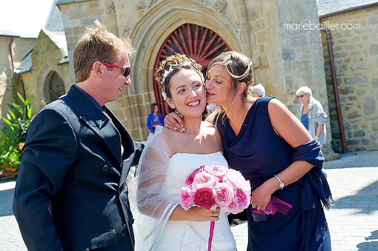 cérémonie mariage à Larmor-Plage - photographe mariage Bretagne
