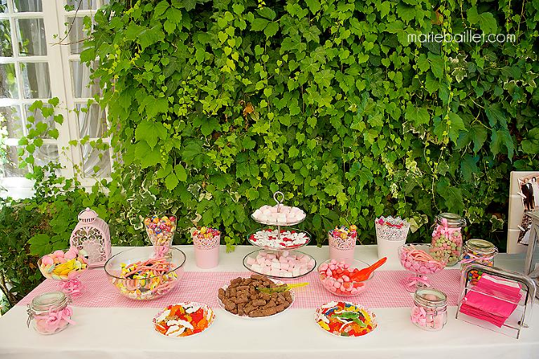 bar à bonbons Manoir de Kercadio - photographe mariage Bretagne
