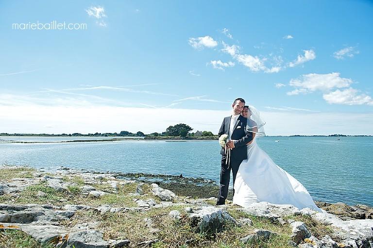 mariage à Saint-Armel séance photo couple - photographe professionnelle 56