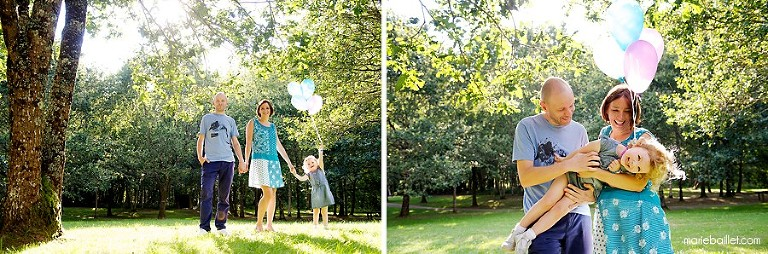 shooting photo estival en famille