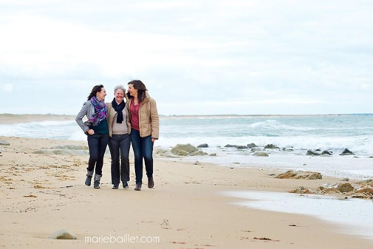 photographe en Bretagne - shooting famille plage 56 © M Baillet