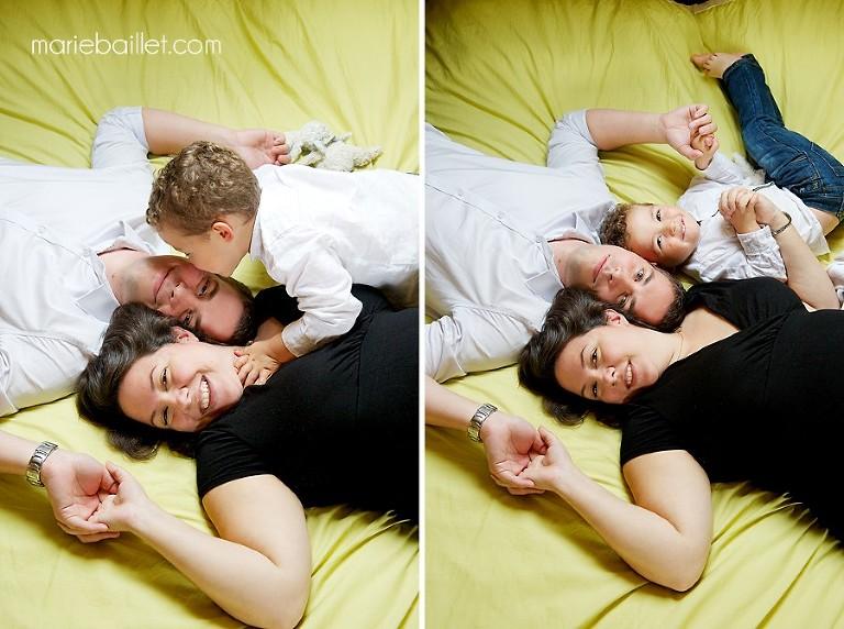 séance photo grossesse à domicile - photographe professionnelle Bretagne