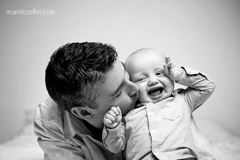séance photo bébé / famille lifestyle dans le Morbihan