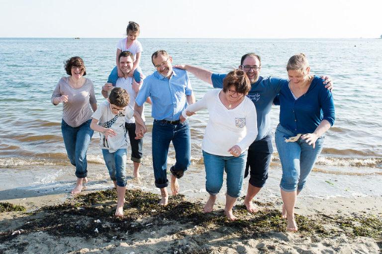 photographe famille et couple Morbihan