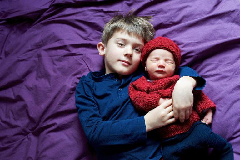 photographe bébé Morbihan pour création de faire-part
