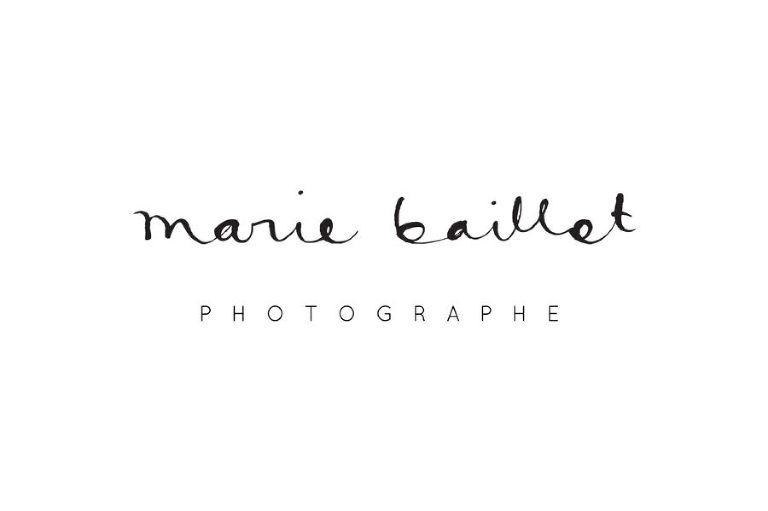 logo marie baillet photographies