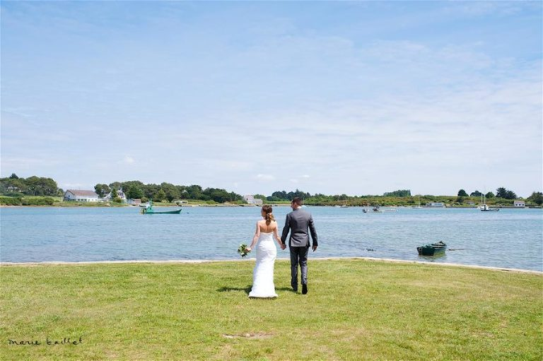 photo reportage mariage chapelle St Philibert - Morbihan