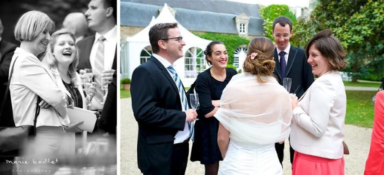 photo mariage chic Saint-Philibert par Marie Baillet photographe en Bretagne sud