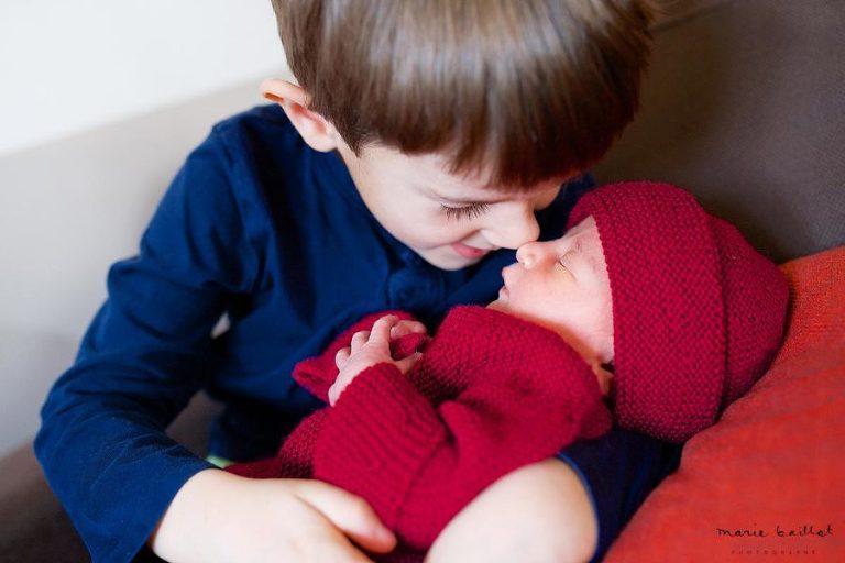 séance photo bébé à domicile morbihan - Marie Baillet photographe 56