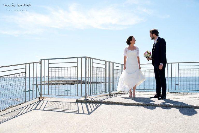 mariage champêtre et chic à Larmor-Plage par Marie Baillet photographe Bretagne