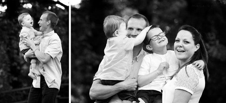 séance photo de famille en Morbihan par Marie Baillet photographe