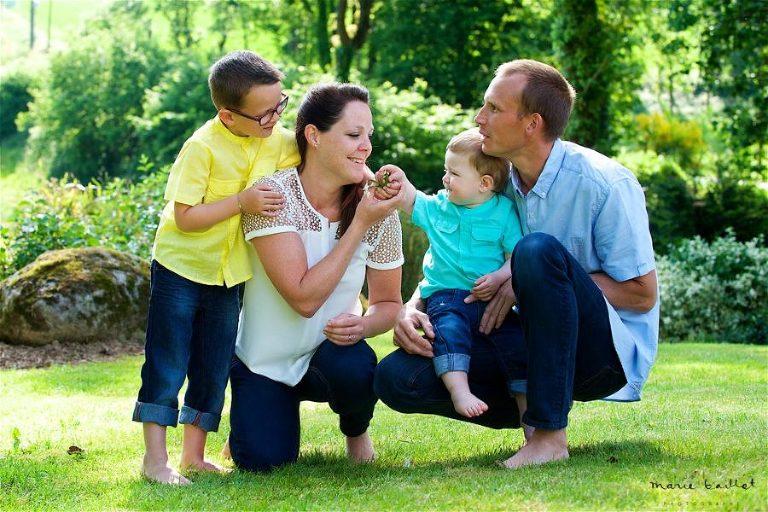 portrait de famille - Morbihan par Marie Baillet photographe
