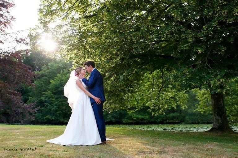 mariage chateau Tredion