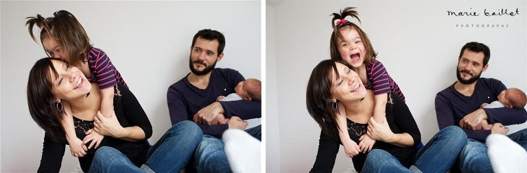 faire part naissance 56 / séance photo bébé à domicile © Marie Baillet photographe Morbihan