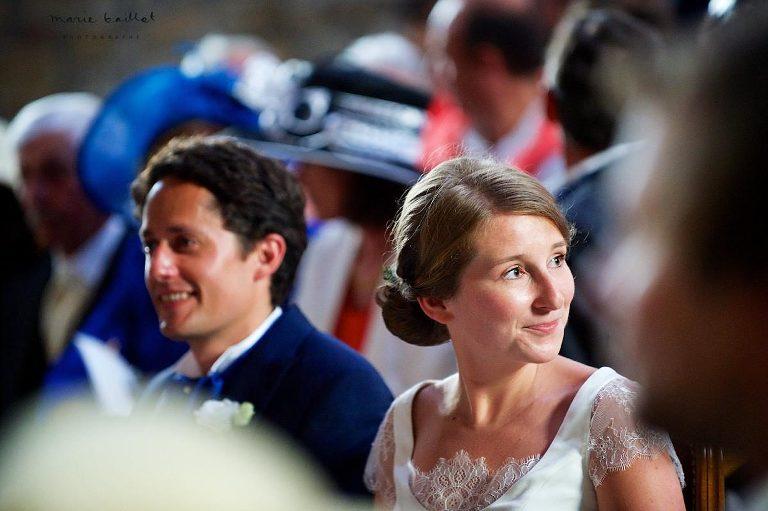 mariage dans le golfe du Morbihan, à Locmariaquer