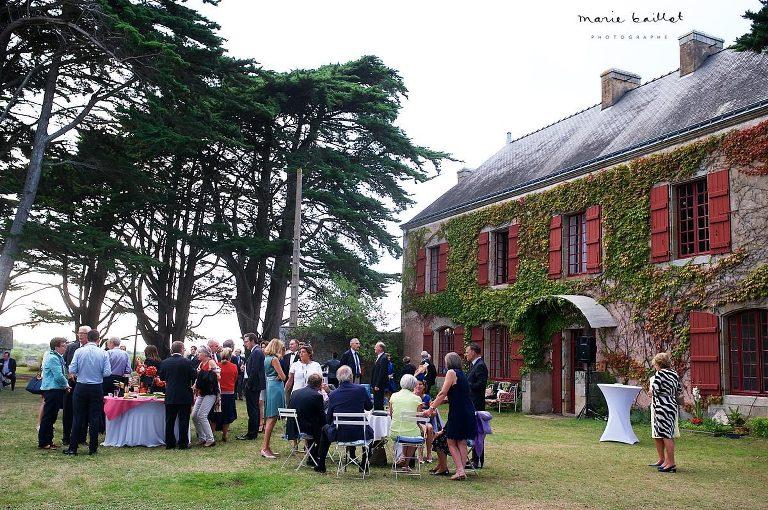 mariage dans le golfe du Morbihan - reportage photo © Marie Baillet photographe Bretagne