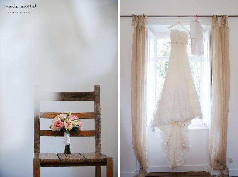 préparatifs mariage par Marie Baillet photographe Bretagne