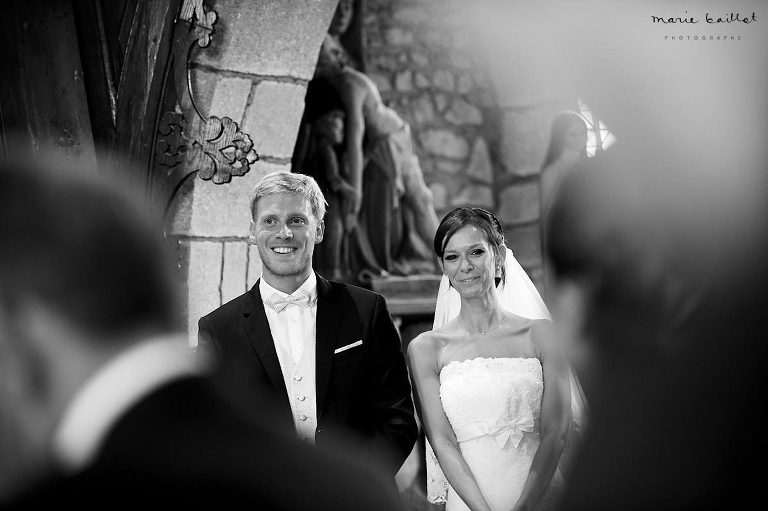 cérémonie mariage Plescop par Marie Baillet photographe Bretagne