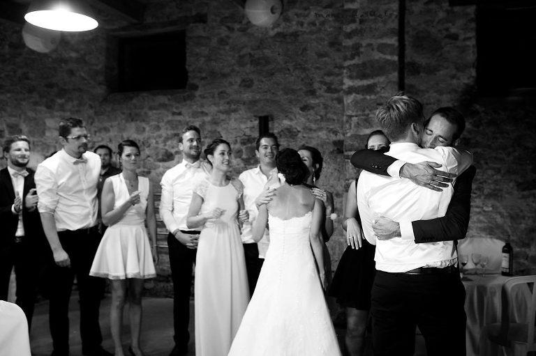 soirée de mariage au Jardin des acanthes par Marie Baillet photographe Bretagne